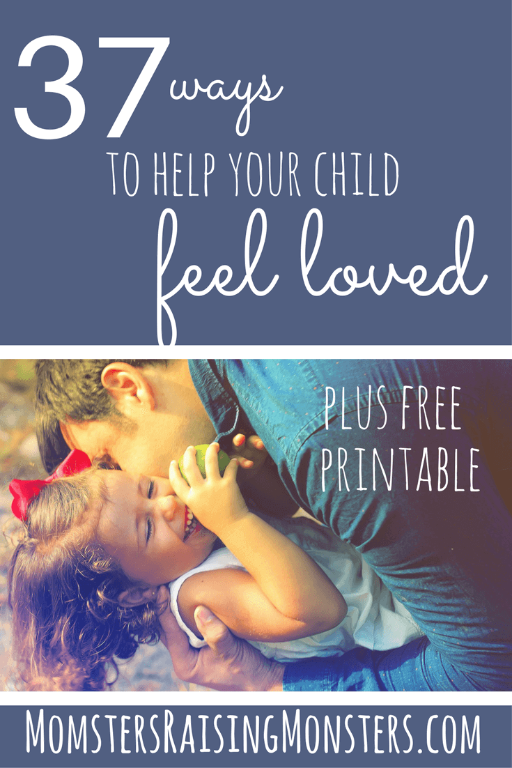 Love these easy ways to connect with your kids and help them feel loved!