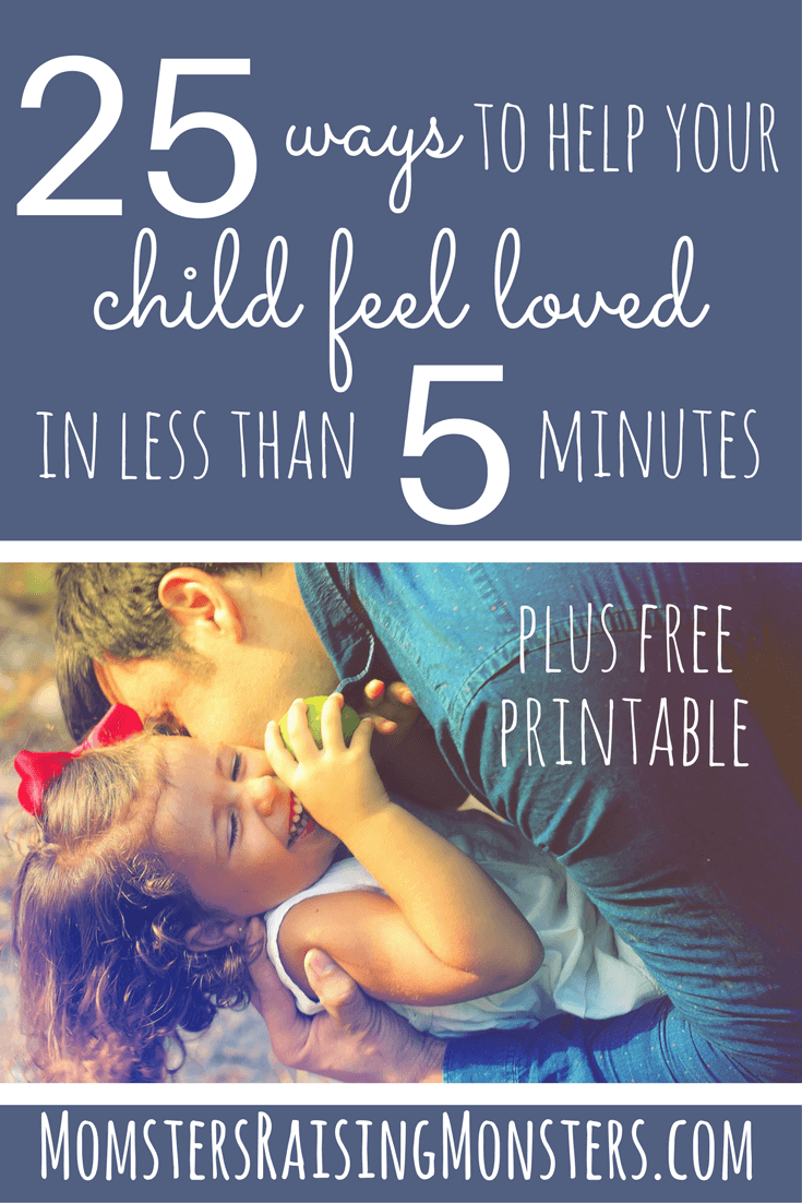 Love these easy ways to connect with the kids and help them feel loved!