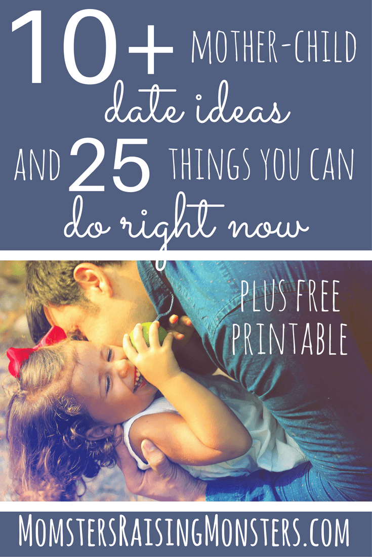 Great date ideas! And a ton of easy ways to connect with the kids!